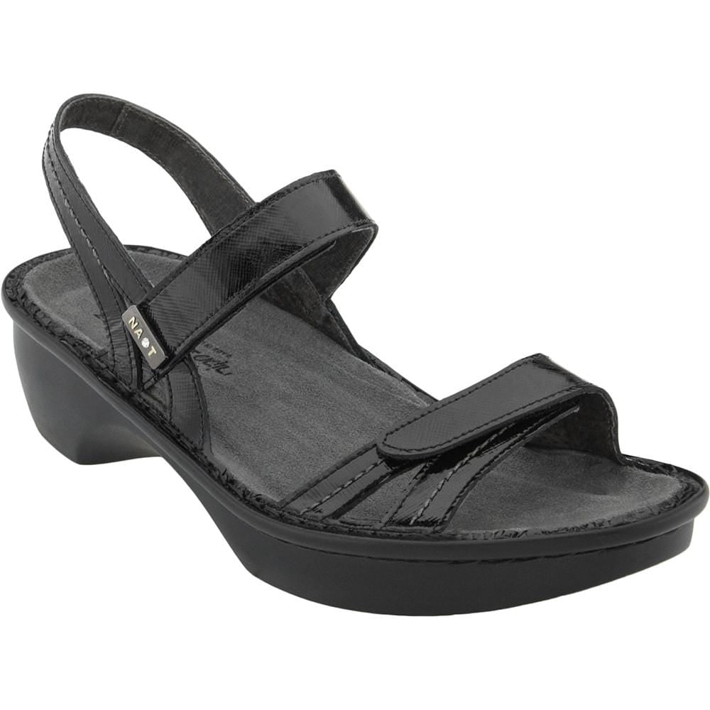 Naot Brussels Womens Leather Wedge Heel Sandal Shoe