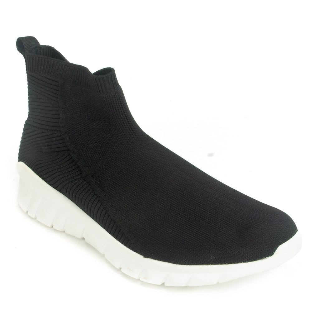 Naot Callisto Women's Casual Knit Slip On Sneaker Black | Simons Shoes