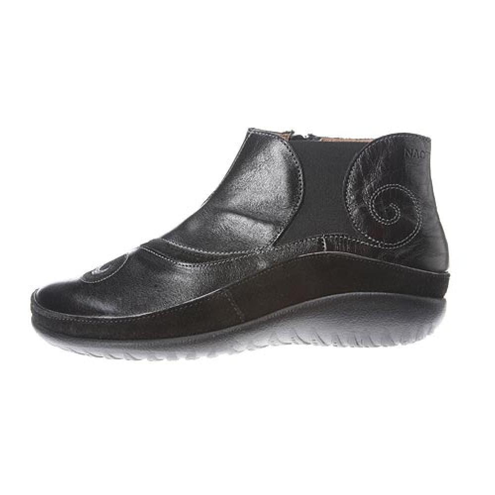 Naot Chi Women's Leather Contrast Swirl Flat Ankle Boot Support Shoe