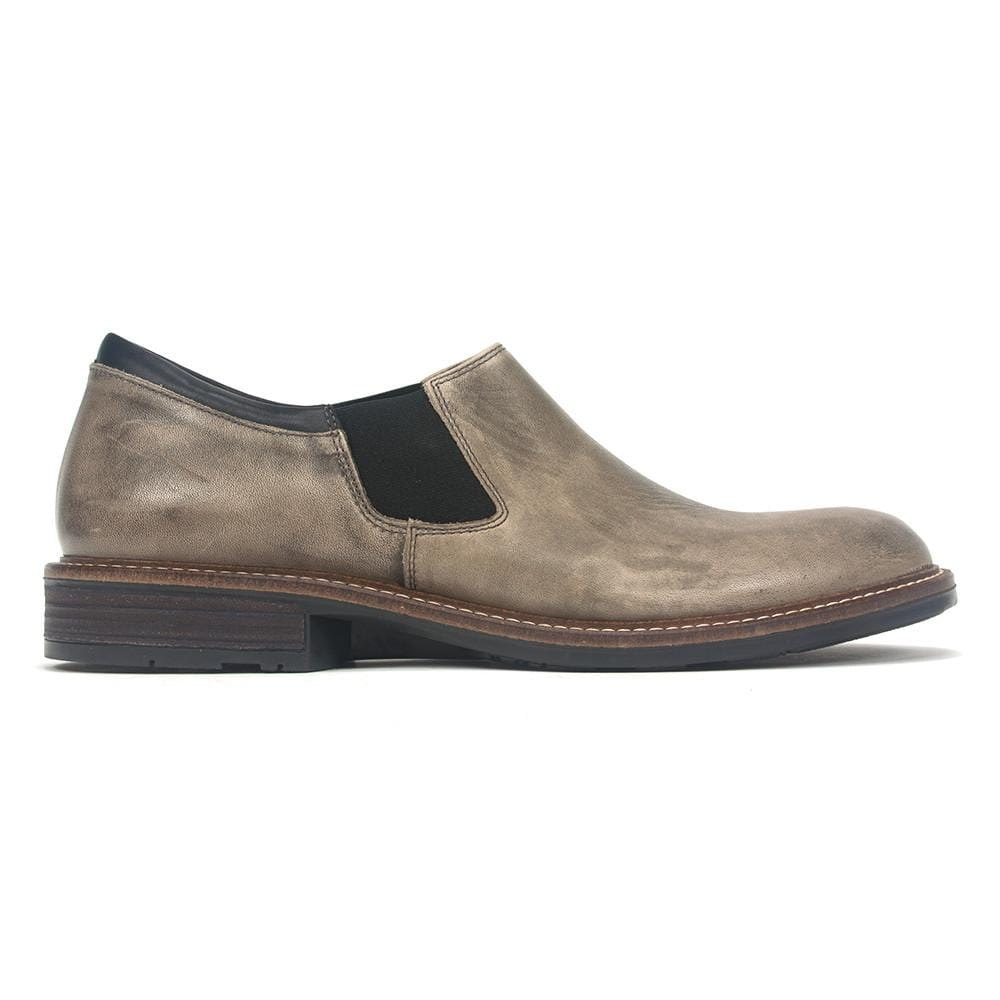 Naot Men's Director Cork Footbed Technical Lined Leather Slip-on Shoe