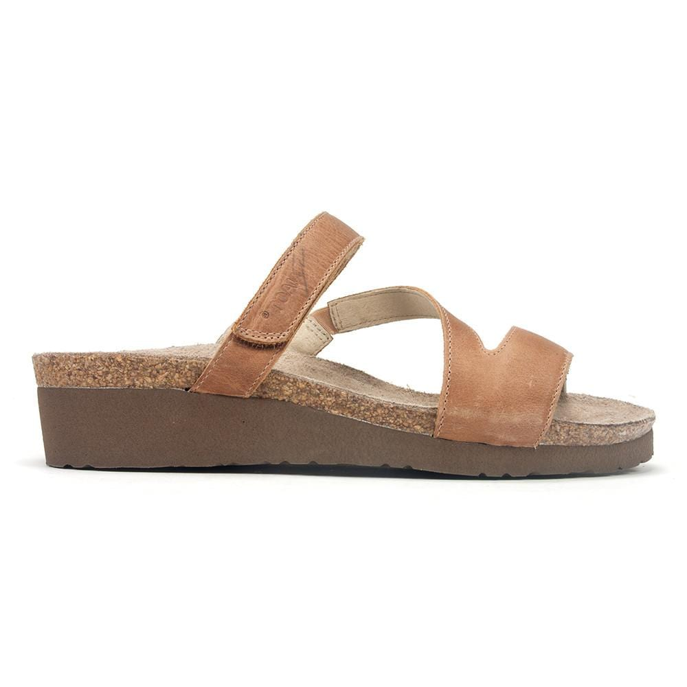 Naot Women's Gabriela Strappy Leather Cork Sole Sandal Shoe