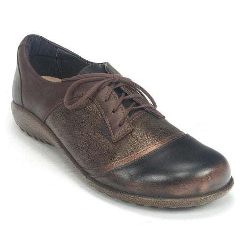Naot Women's Harore Anatomic Cork Footbed Oxford Lace-up Shoes