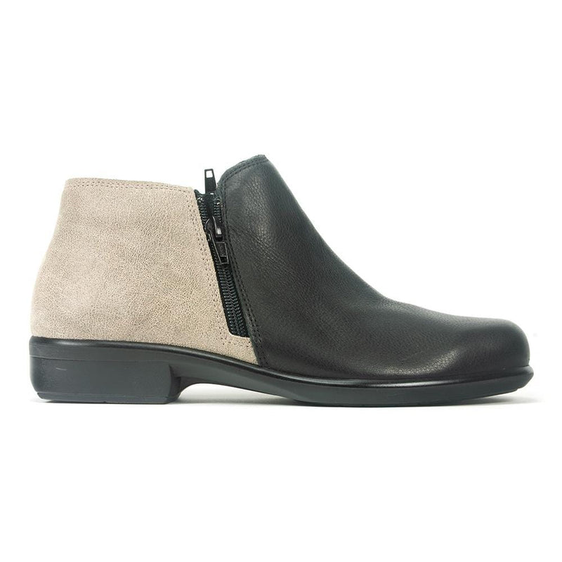 Naot Women's Helm Leather Anatomic Cork Footbed Bootie | Simons Shoes