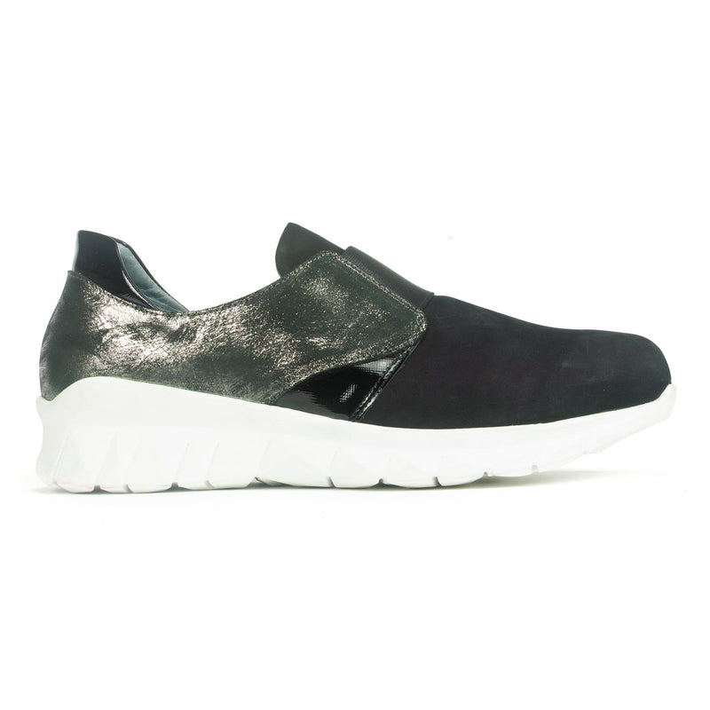 Naot Intrepid Sneaker Women's Leather Slip On Black Onyx | Simons Shoes