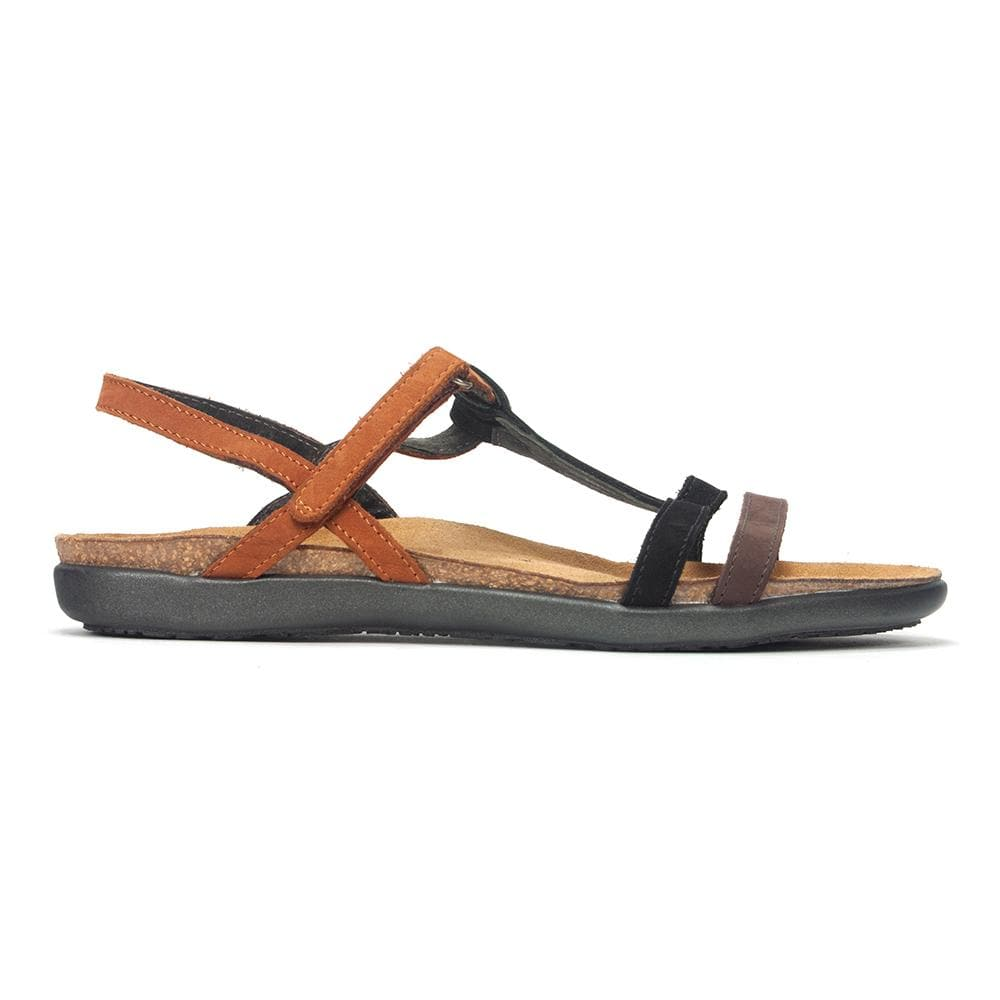 Naot Judith | Women's Colorful Leather T-Strap Sandal | Simons Shoes