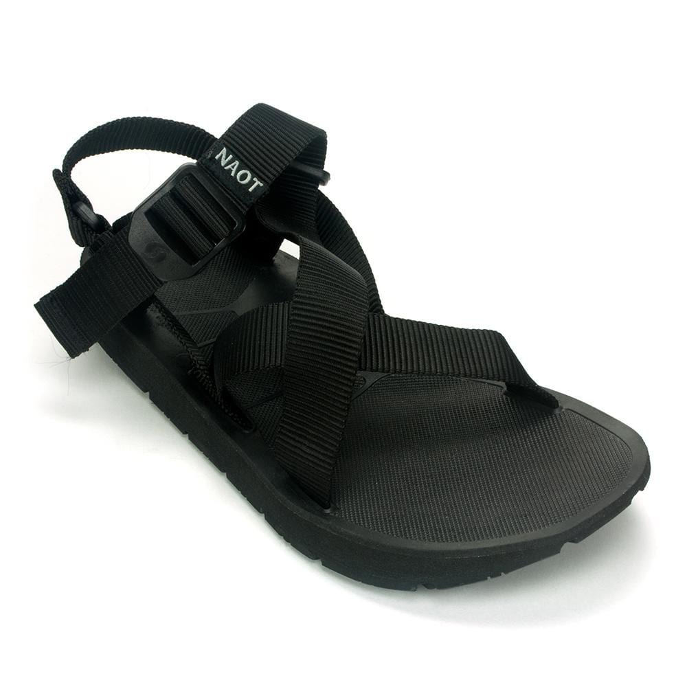 Naot Jungle Men's Casual Adjustable Outdoor Sandal Black | Simons Shoes