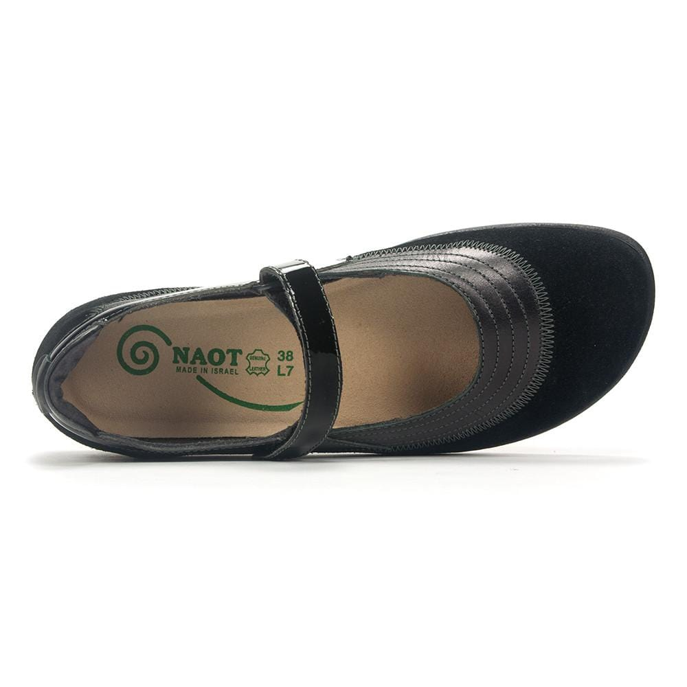 Naot Kirei | Women's Leather Mary Jane Contouring Comfy Flat | Simons
