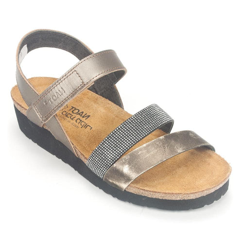 Naot Krista Women's Leather Cork Footbed Strap Sandal Shoe