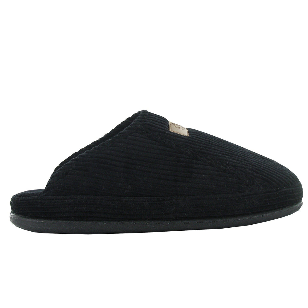 Naot Laze Black Corduroy Men's Slipper | Simons Shoes