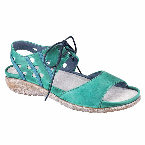Naot Tie Sandal - Women's Mangere Leather Cutout Sandal - Simons Shoes