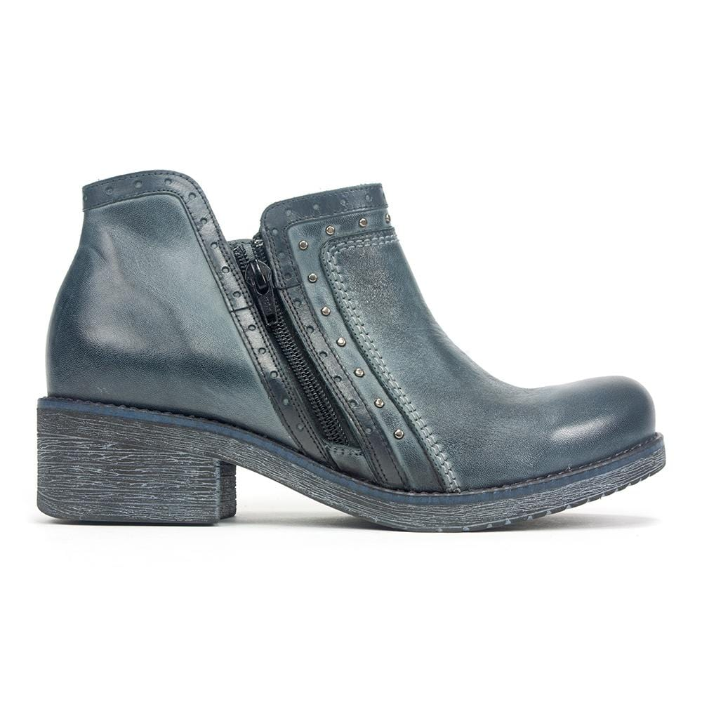 Naot Meditate | Women's Studded Leather Dual Zip Boho Bootie | Simons