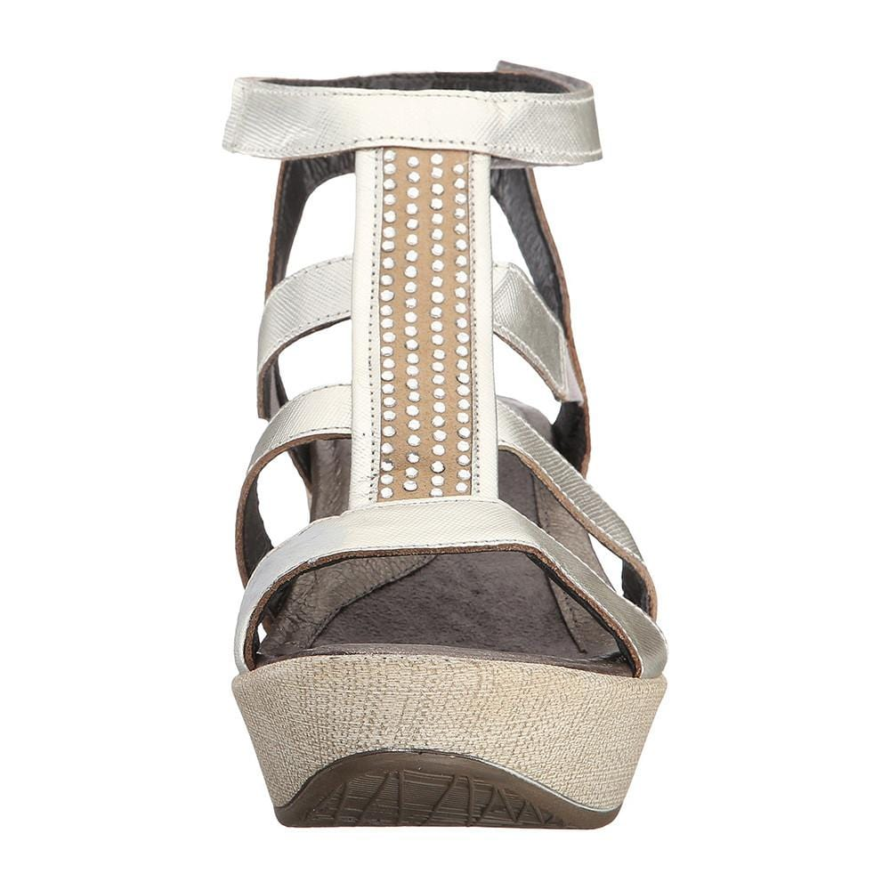 Naot Women's Mystery Embellished Wedge Sandal Shoe