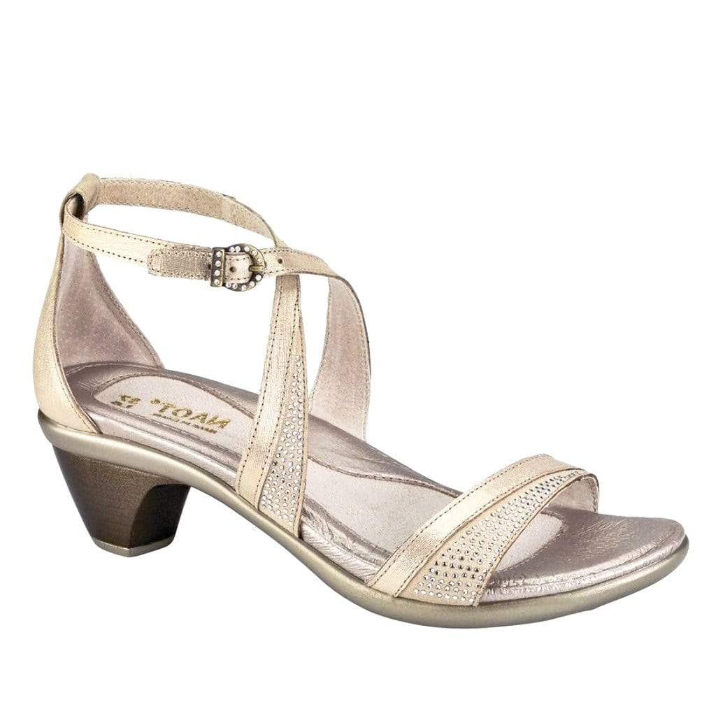 Naot Sandal - Onward Leather Crisscross Heeled Sandal - Simons Shoes