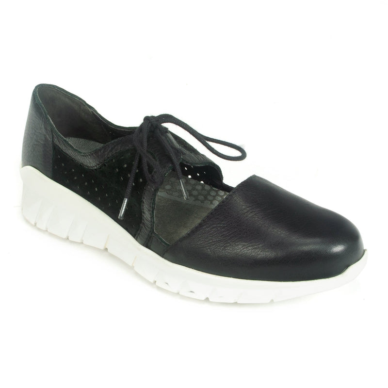 Naot Ophelia Women's Perforated Leather D'Orsay Sneaker Black | Simons Shoes