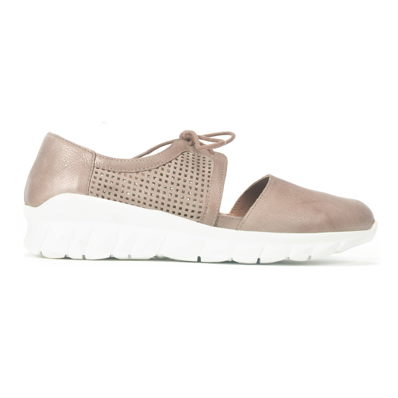 Naot Ophelia Women's Perforated Leather D'Orsay Sneaker Stone | Simons Shoes