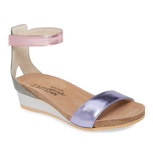 Naot Pixie Women Leather Adjustable Strap Wedge Sandal | Simons Shoes