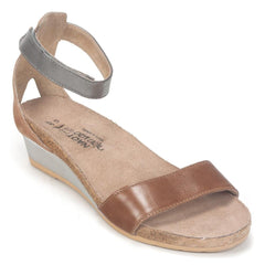 Naot Pixie Womens Leather Strappy Wedge Sandal Shoe