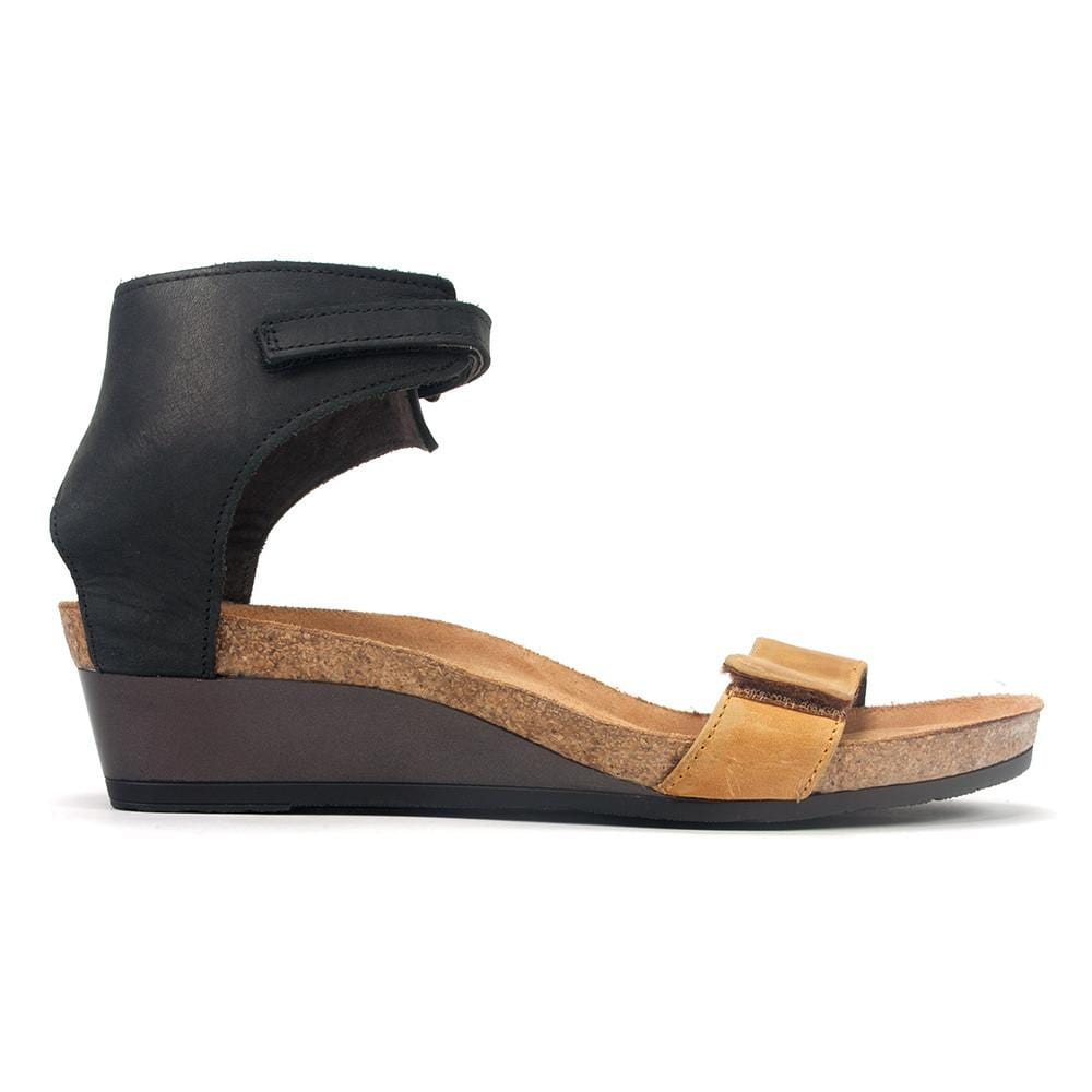 Naot Prophecy Women's Leather Wedge Sandal Shoe