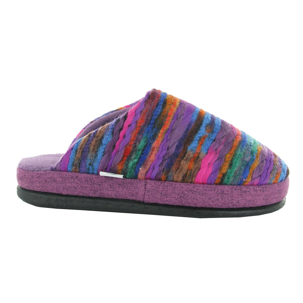 Naot Recline Women's Vibrant Multi Color Woven Slipper | Simons Shoes