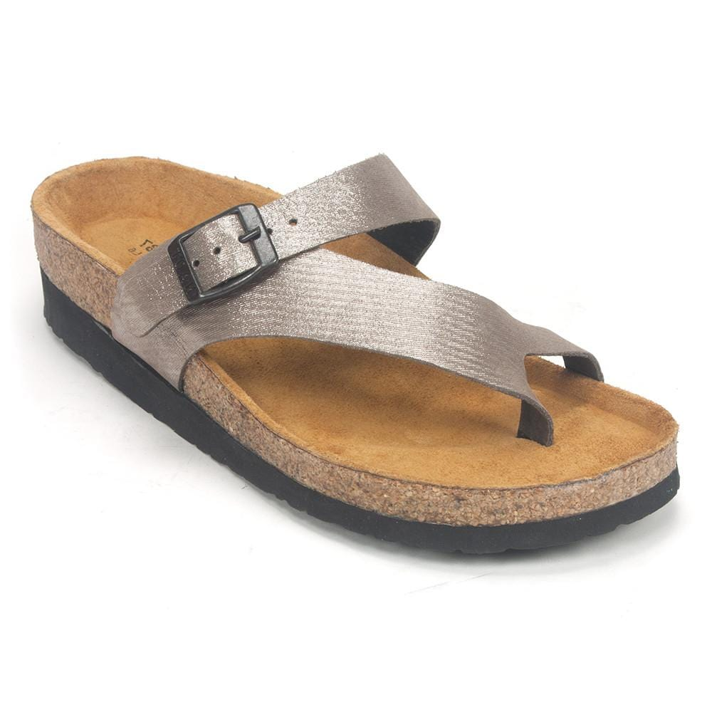 Naot Tahoe (7700) Women's Leather Cork Slide Sandal | Simons Shoes