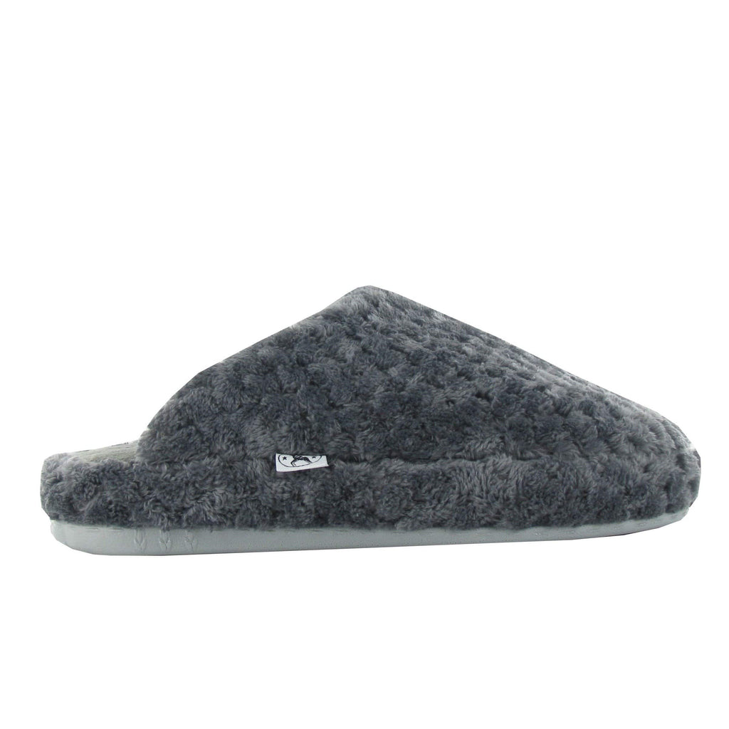 Naot Unwind Women's Cozy Gray Slippers | Simons Shoes