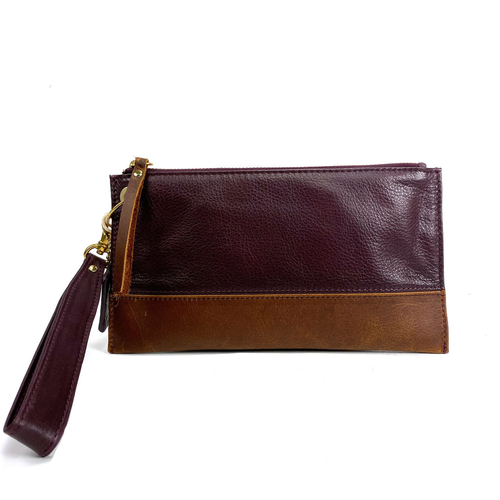 Osgoode Marley 7126 Celia Women's Mulberry Leather Wristlet | Simons Shoes