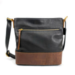 Osgoode Marley 7134 Scarlet Small Black Leather Hobo Bag | Simons Shoes