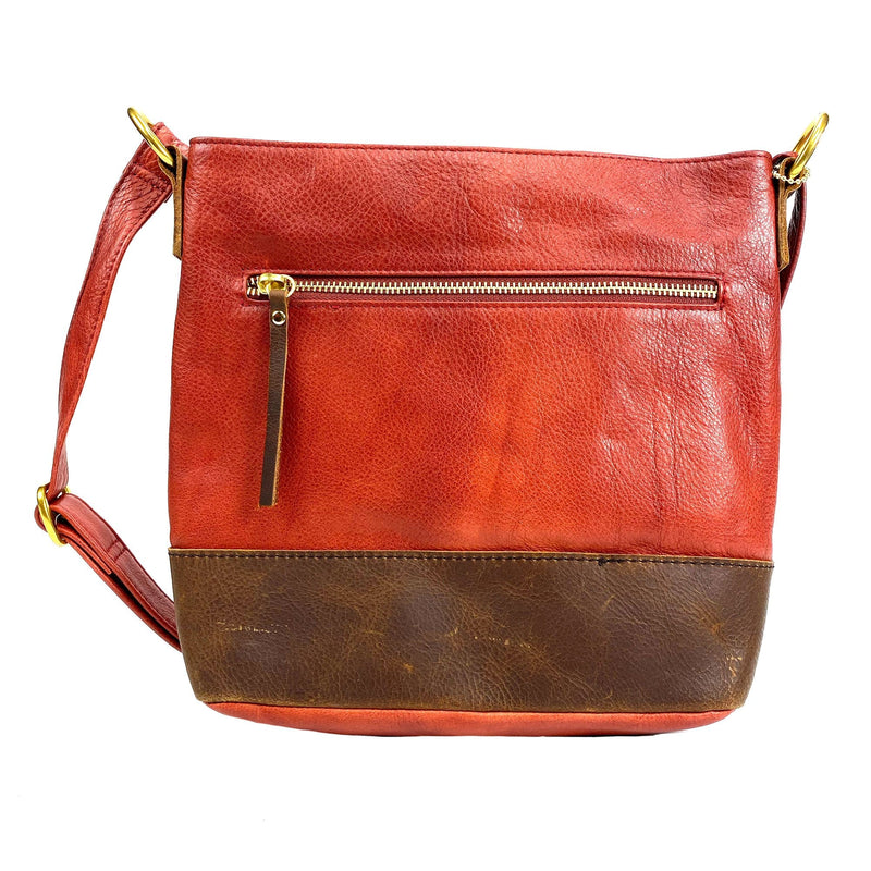Osgoode Marley 7134 Scarlet Small Henna Leather Hobo Bag | Simons Shoes
