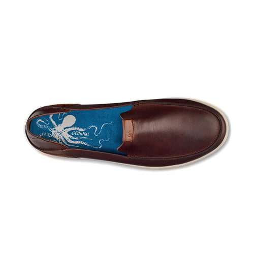 Olukai Slip On - Nalukai Mens Leather Slip On - Olukai at Simons Shoes