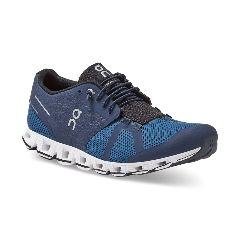 On Running Cloud Lightweight Men's Midnight/Ocean Running Sneaker | Simons Shoes