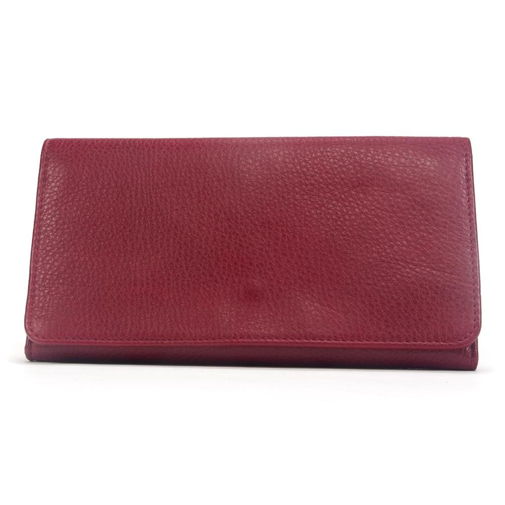 Osgoode Marley Cashmere Leather Womens RFID Wallet w// Removable Checkbook 1236