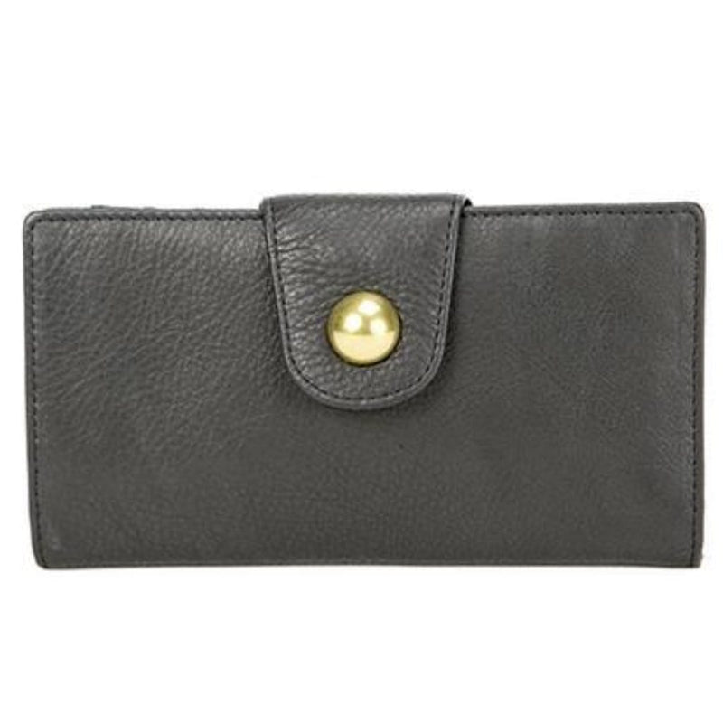 Osgoode Marley 1283 Women's Leather RFID Long Snap Organize Wallet