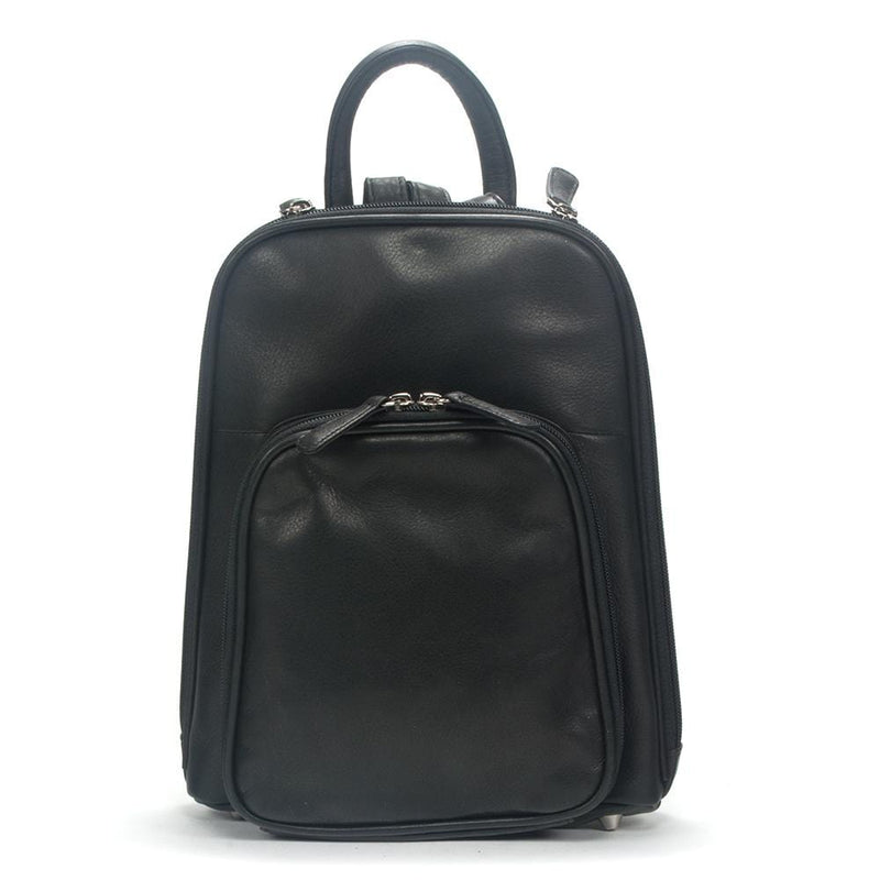 Osgoode Marley Small Organizer Leather Backpack (5020)