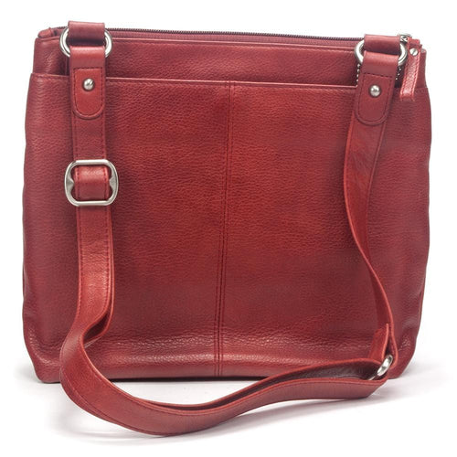 Osgoode Marley Leather Handbag - Women's Large Crossbody Traveler (7003)