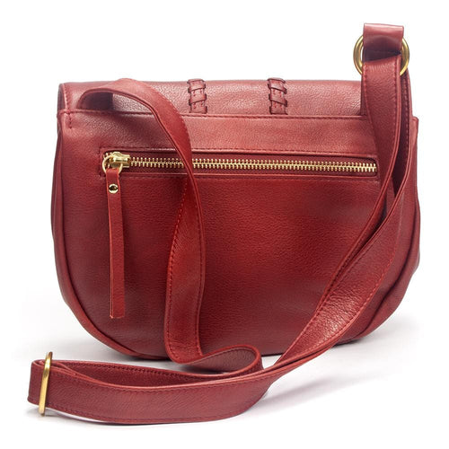 Osgoode Marley 7041 Sage Flap Leather Boho Crossbody Bag Small Purse