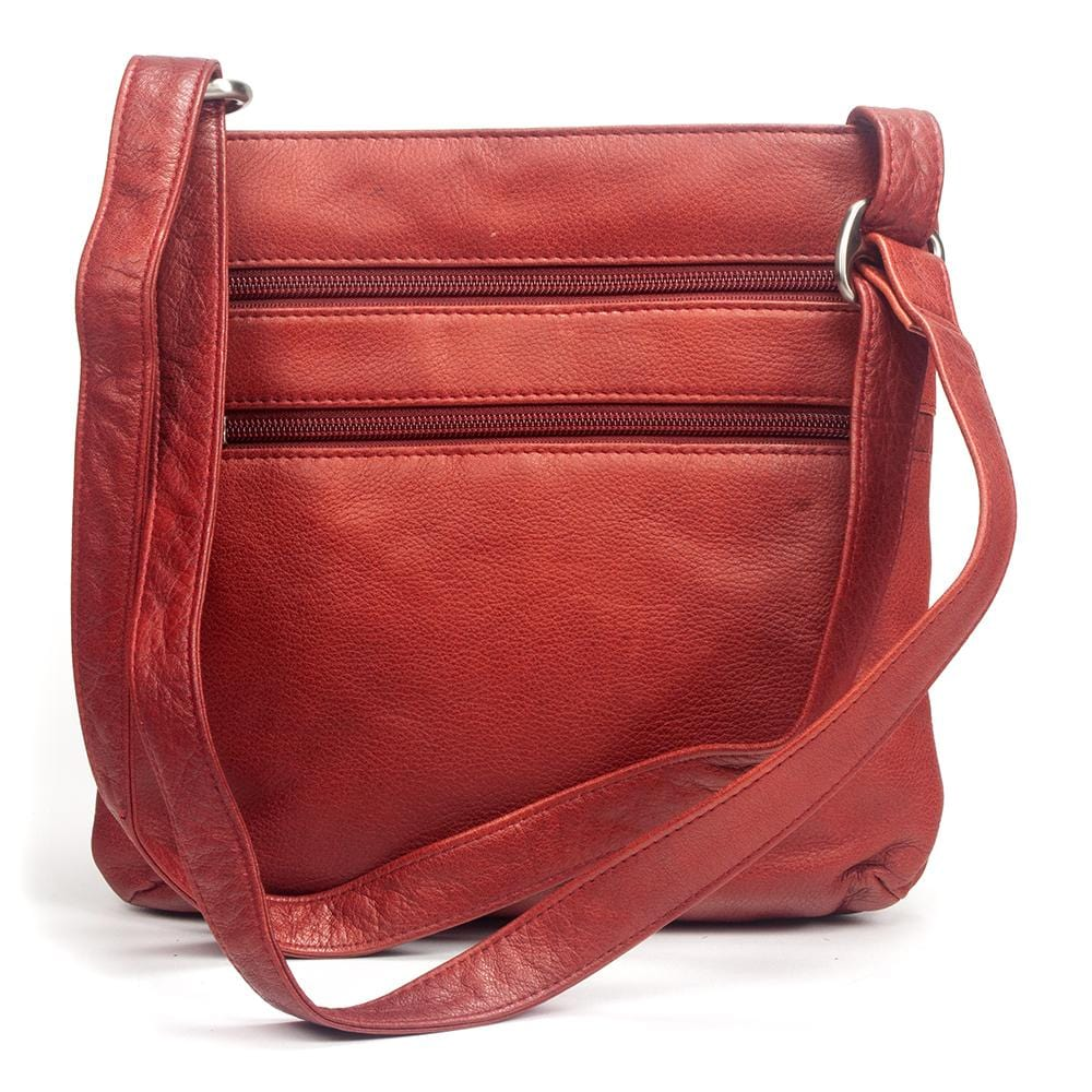 Osgoode Marley Leather Purse | Brooke Triple Zip (7061) | Simons Shoes