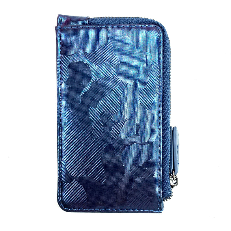 Pixie Mood Quinn Metallic Camo Vegan Card Wallet (P218-QUI) | Simons Shoes
