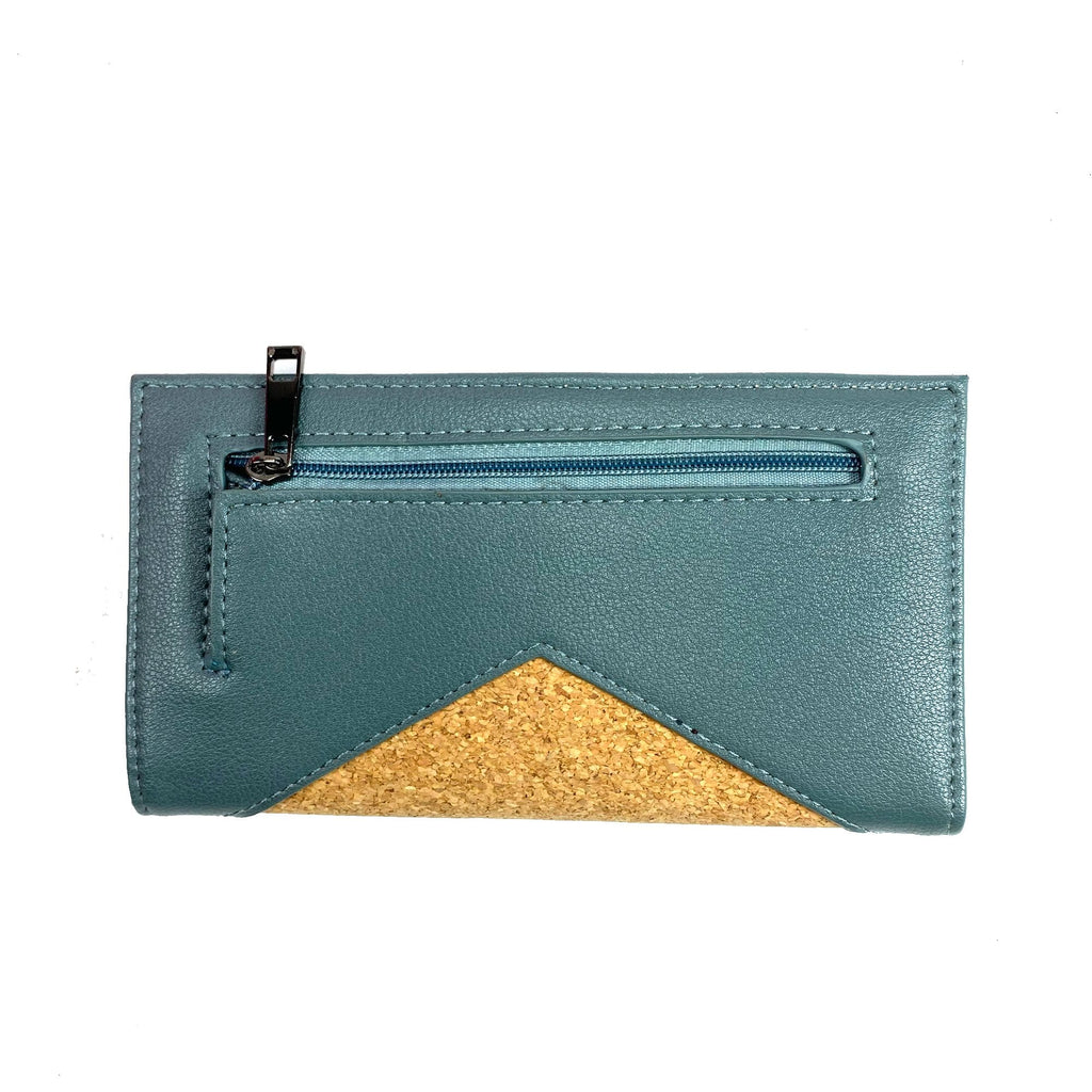 Pixie Mood P218-SOP Sophie Spruce Vegan Leather Wallet | Simons Shoes