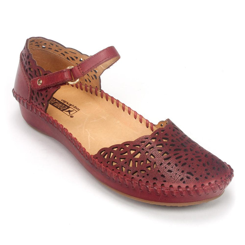 Pikolinos Flat - Women's 655-1532 Leather Mary Jane Sandal | Simons