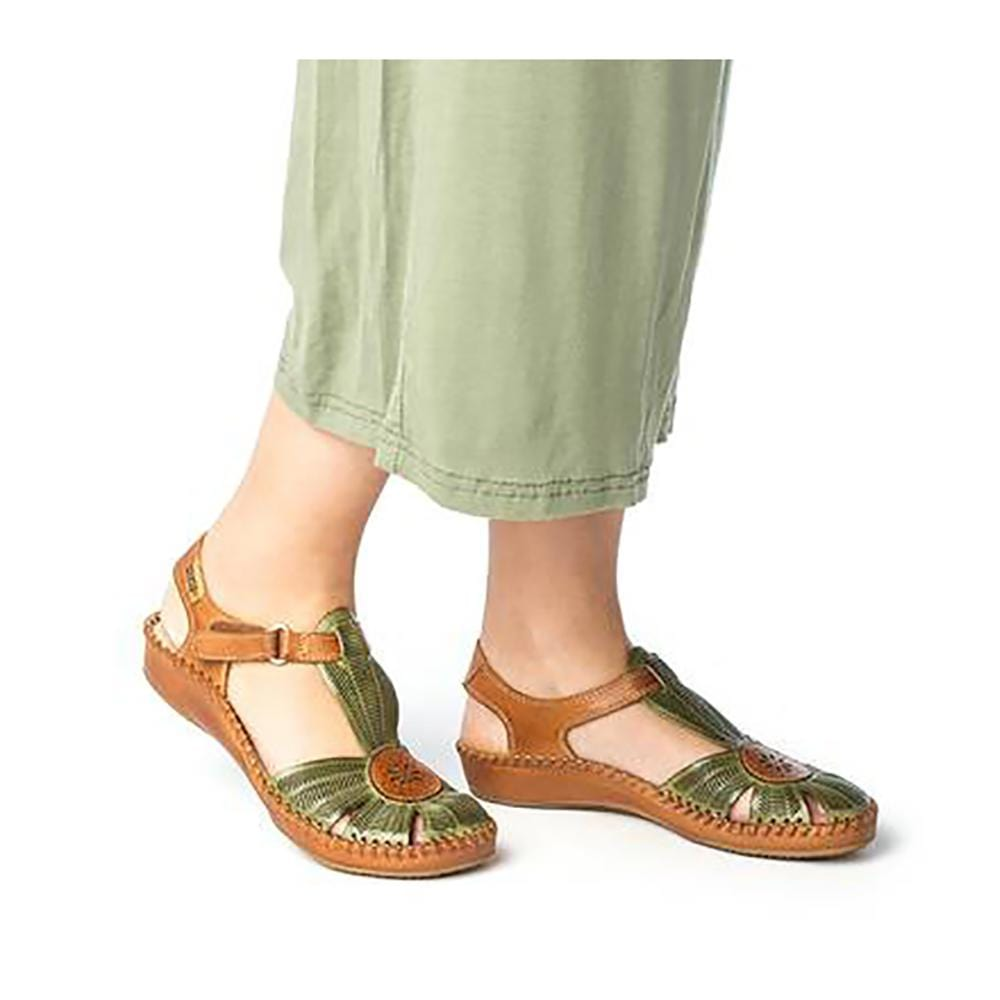 f30525624 Pikolinos Puerto Vallarta (655-0575) - Women s Leather MaryJane Sandal –  Simons Shoes