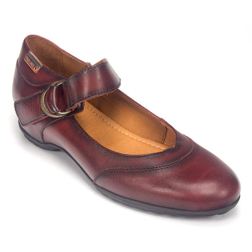 Pikolinos Women's Venezia 968-5697 Leather Heel Mary Jane Shoe