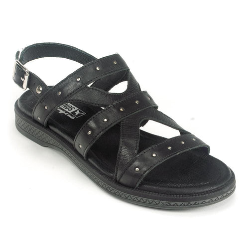 Pikolinos W4E-0633 Women Studded Leather Gladiator Sandal Simons Shoes