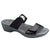 Naot Pinotage Women's Leather Slide Sandal Shoe