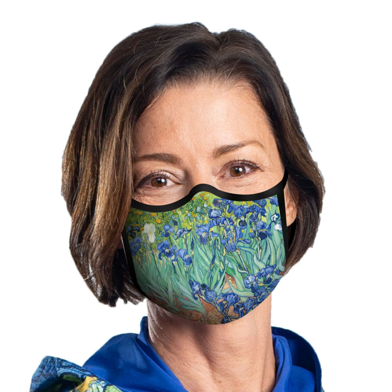 RainCaper Reusable Face Mask Adjustable Fit Sueded Polyester