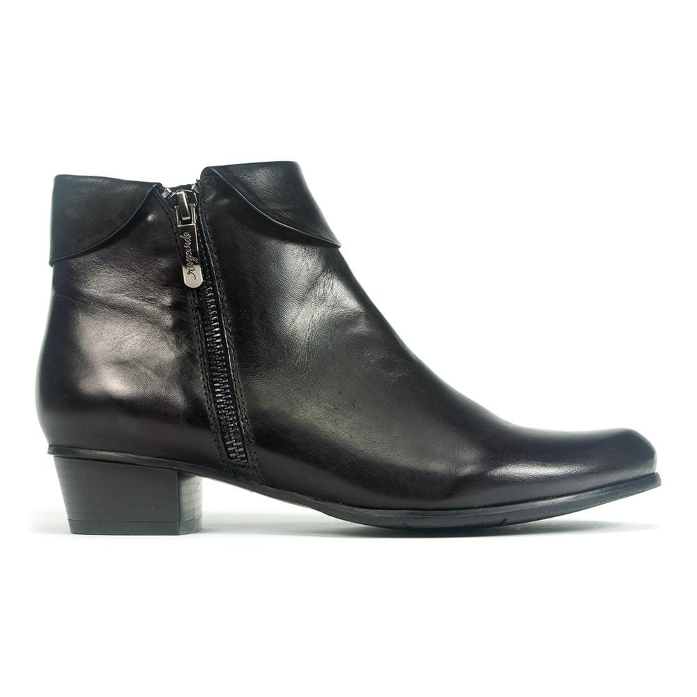 Regarde Le Ciel Stefany 03 Women's Leather Fold Over Bootie | Simons