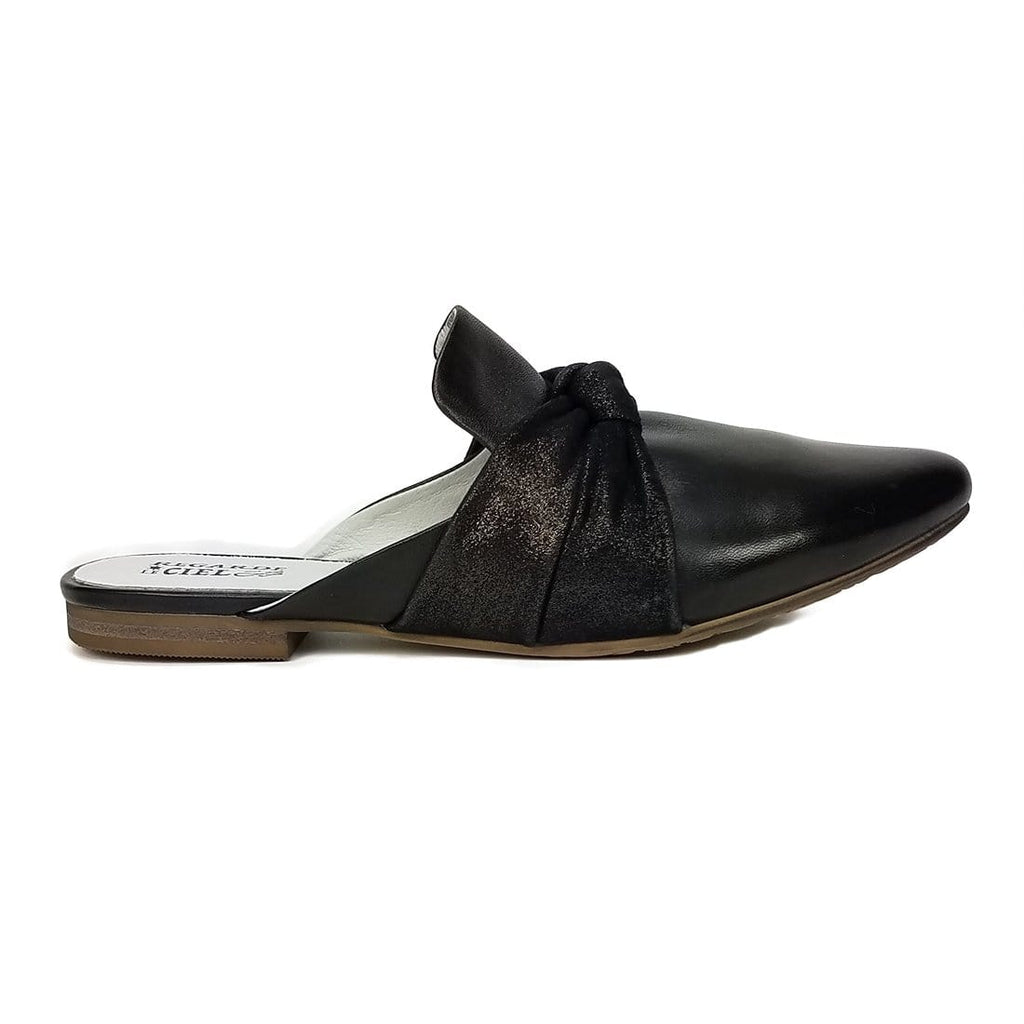 Regarde Le Ciel | Julienne Pointed Flat Mule (Julienne-39) | Simons