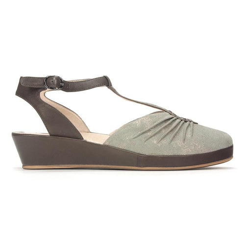 Regarde le Ciel Women's Larissa-04 Mary Jane Closed Toe Sandal Shoe