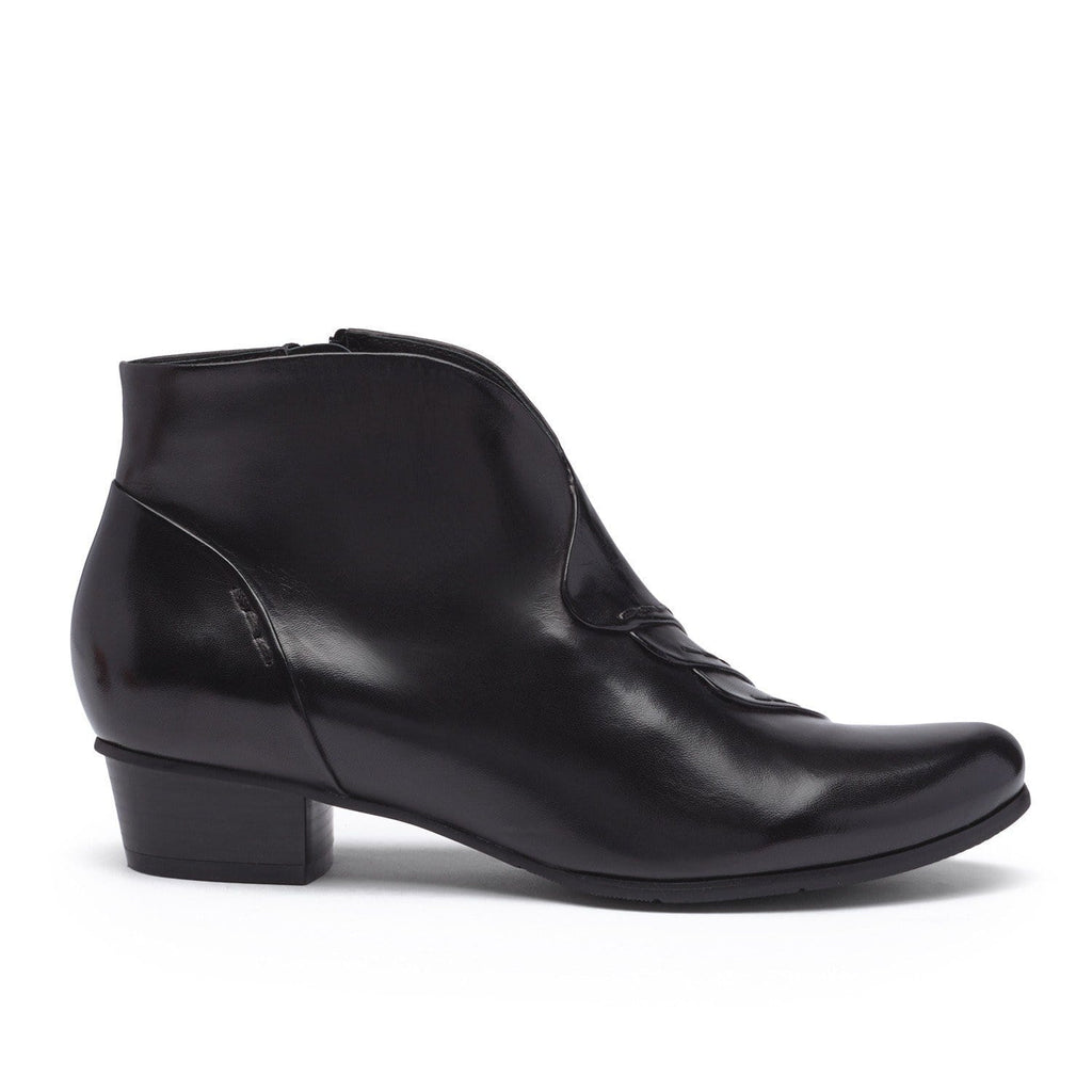 Stefany 335 Leather Ankle Bootie