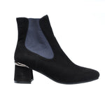 Regarde Le Ciel Illary 07 Women's Leather Slip On Fashion Bootie Shoe