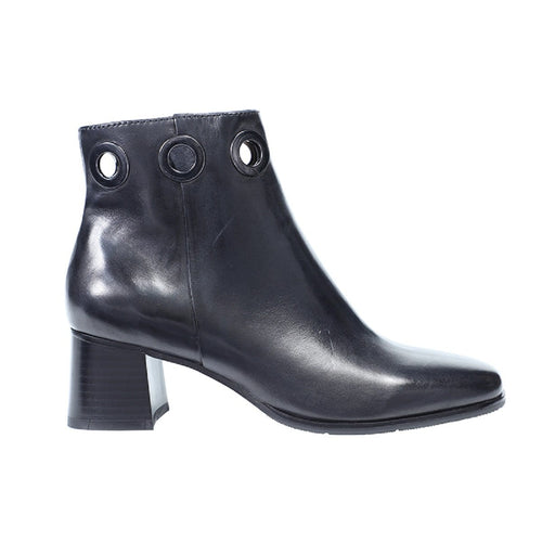 Regarde Le Ciel Ines 19 Women's Leather Cut Out Fashion Bootie Shoe
